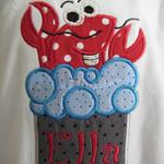 Crawfish in Boiling Water Applique