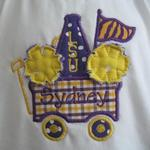 Cheer Wagon Applique