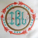 Tribal Arrows monogram patch