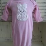 Softy Peeps Bunny Applique