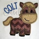 Horse/pony applique