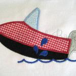 Jet Ski applique