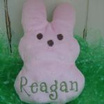 Personalized Peeps Bunny Lovie