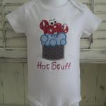 "Crawfish in Boiling Water ""Hot Stuff"" Onesie"